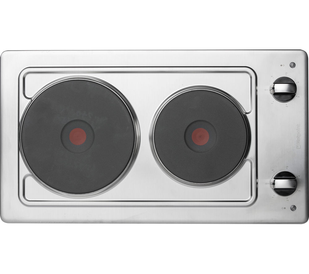 HOTPOINT  First Edition E320SKIX Electric Hob  Stainless Steel Stainless Steel