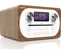 PURE Evoke C-D4 DAB+/FM Bluetooth Radio - Walnut