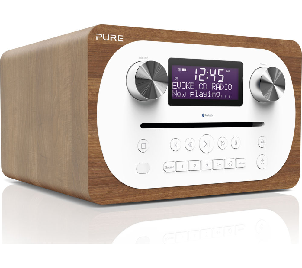 Click to view more of PURE  Evoke C-D4 DABﱓ Bluetooth Radio - Walnut