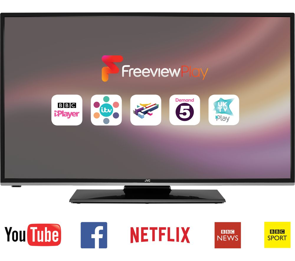 JVC  LT49C760 Smart 49 LCD TV
