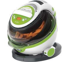 BREVILLE VDF105 Halo+ Health Fryer - White & Green