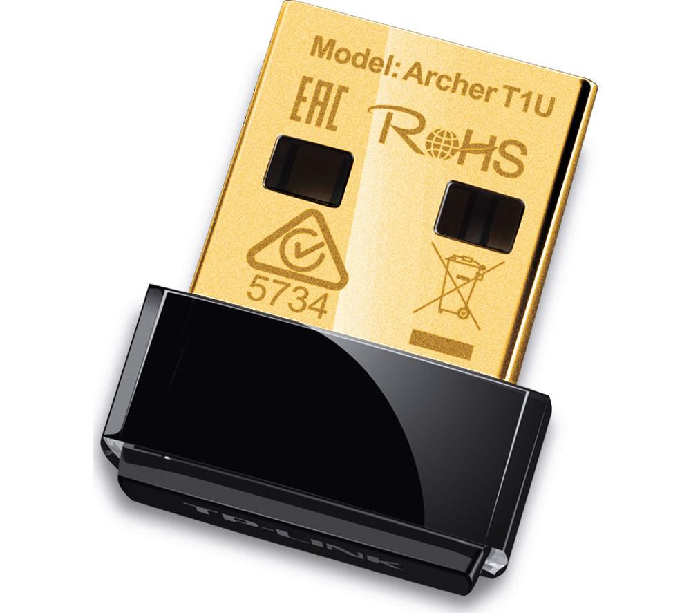 TP-LINK Archer T1U USB Wireless Adapter - AC450, Single-band
