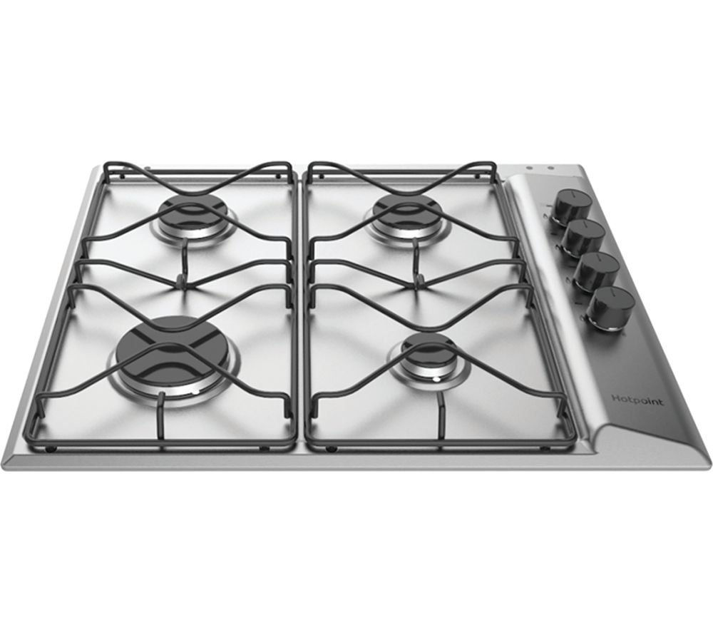 Buy Hotpoint Pan642ixh Gas Hob Stainless Steel Free