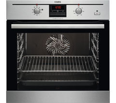 AEG BC330352KM Electric Oven - Stainless Steel