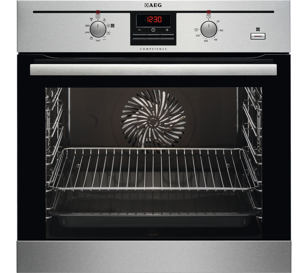 AEG  BC330352KM Electric Oven  Stainless Steel Stainless Steel