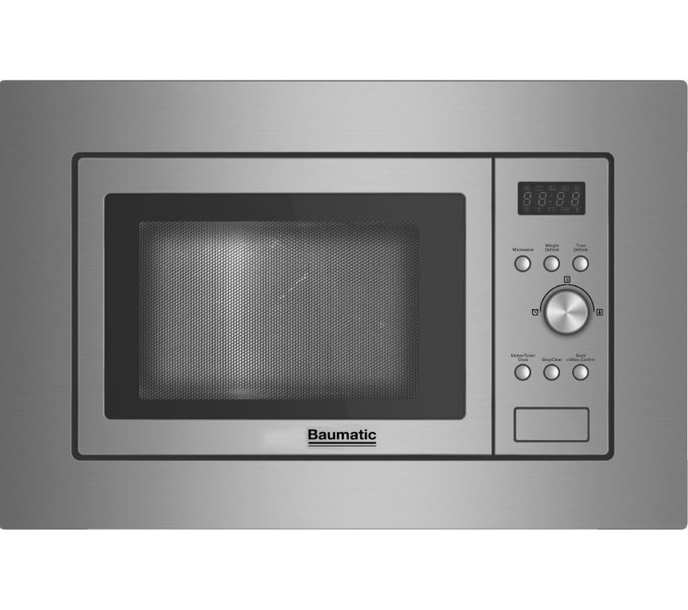 BAUMATIC  BMIS3820 Builtin Solo Microwave  Stainless Steel Stainless Steel