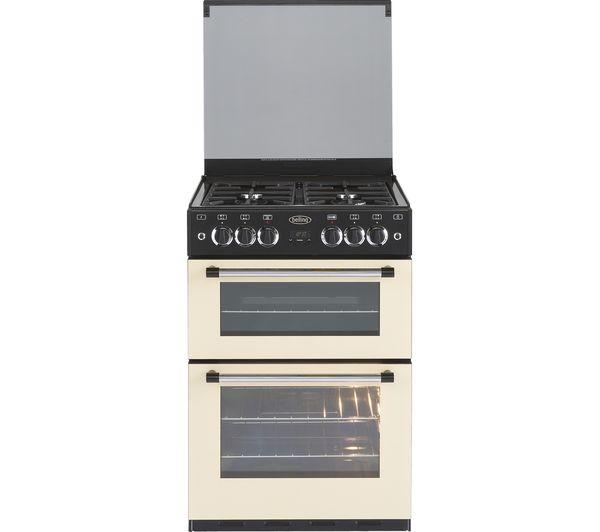 Buy Belling Classic 60 Cm Gas Cooker Cream Amp Black