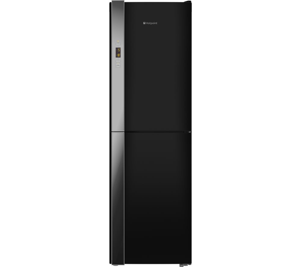 HOTPOINT XUL85 T3Z KOV Fridge Freezer  Black Black