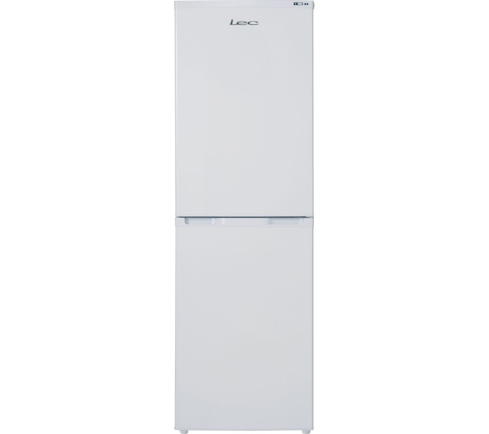 LEC TF5517W 5050 Fridge Freezer  White White