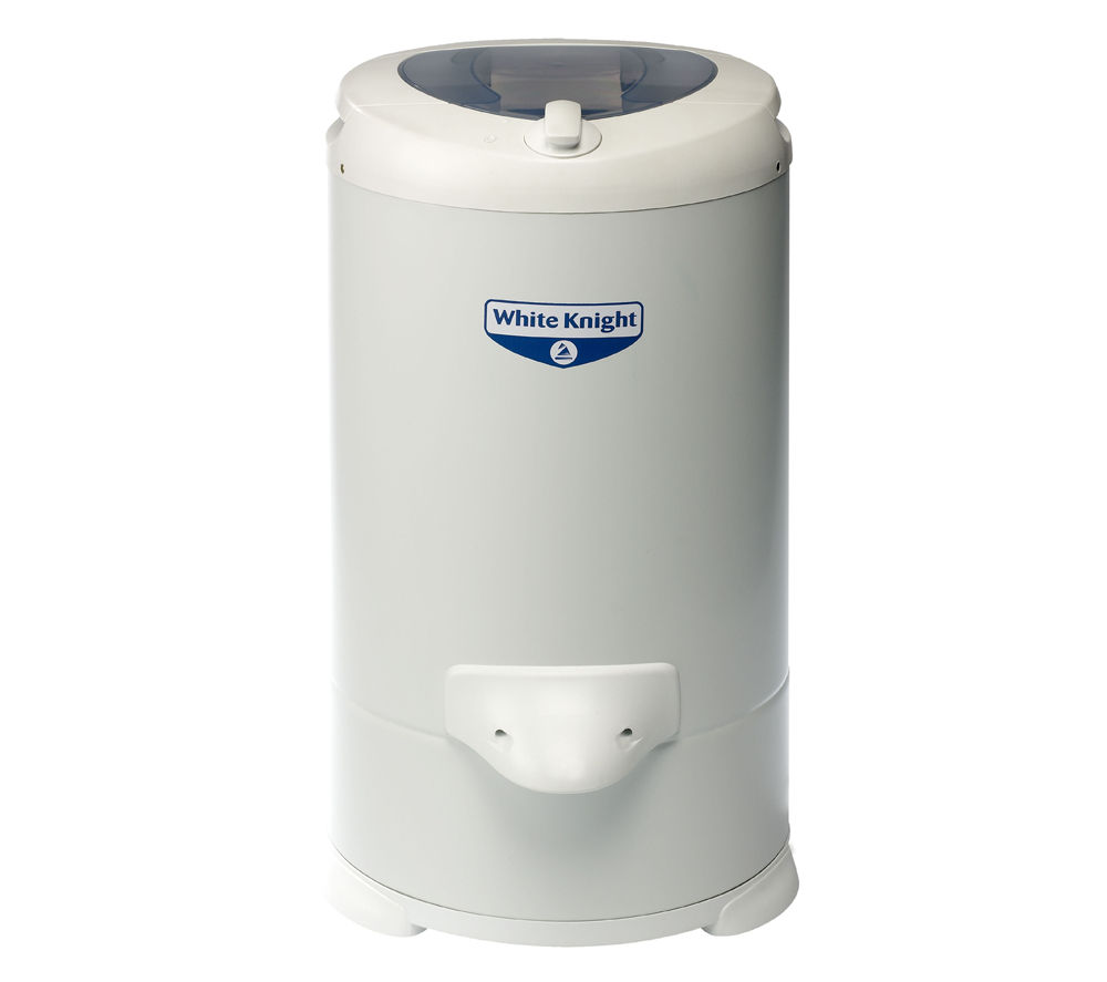 WHITE KNIGHT  28009W Spin Dryer - White +  DFS05X10W Slimline Dishwasher - White