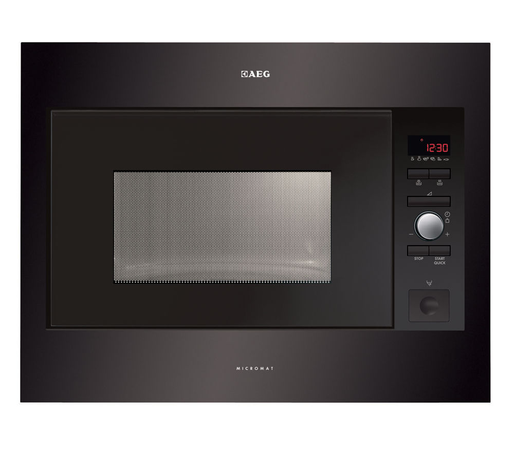 AEG MC2664E-B Built-in Solo Microwave - Black