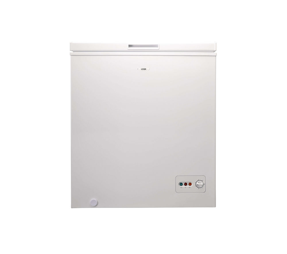 Logik L150CFW13 Chest Freezer - White, White