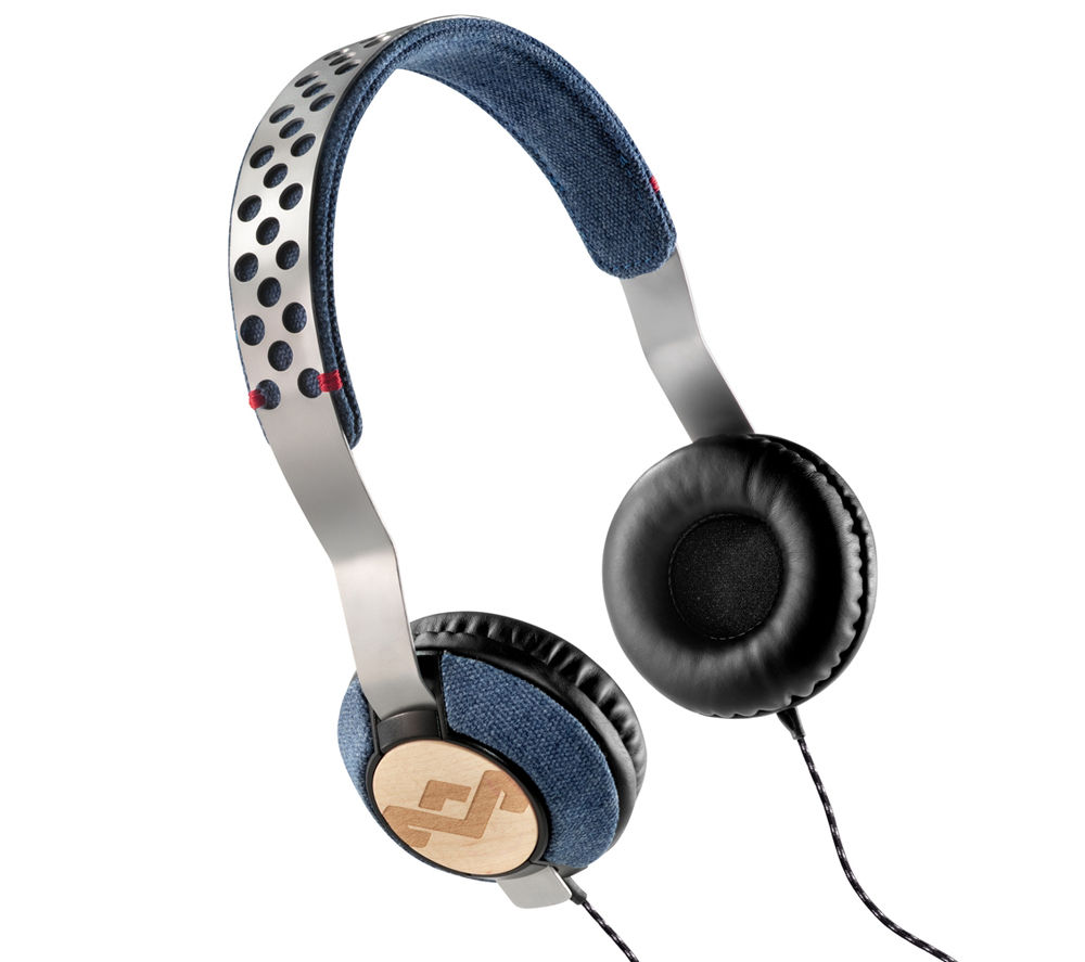Click to view more of HOUSE OF MARLEY  Liberate Dream Headphones - Blue, Blue