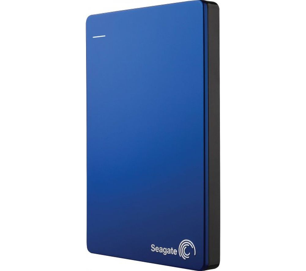 SEAGATE Backup Plus Portable Hard Drive - 2 TB, Blue