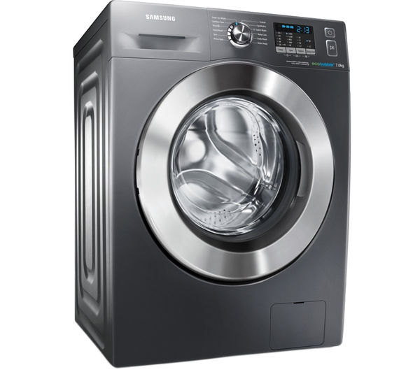 buy samsung ecobubble wf70f5e2w4x washing machine graphite t76385ah3 heat pump tumble dryer. Black Bedroom Furniture Sets. Home Design Ideas