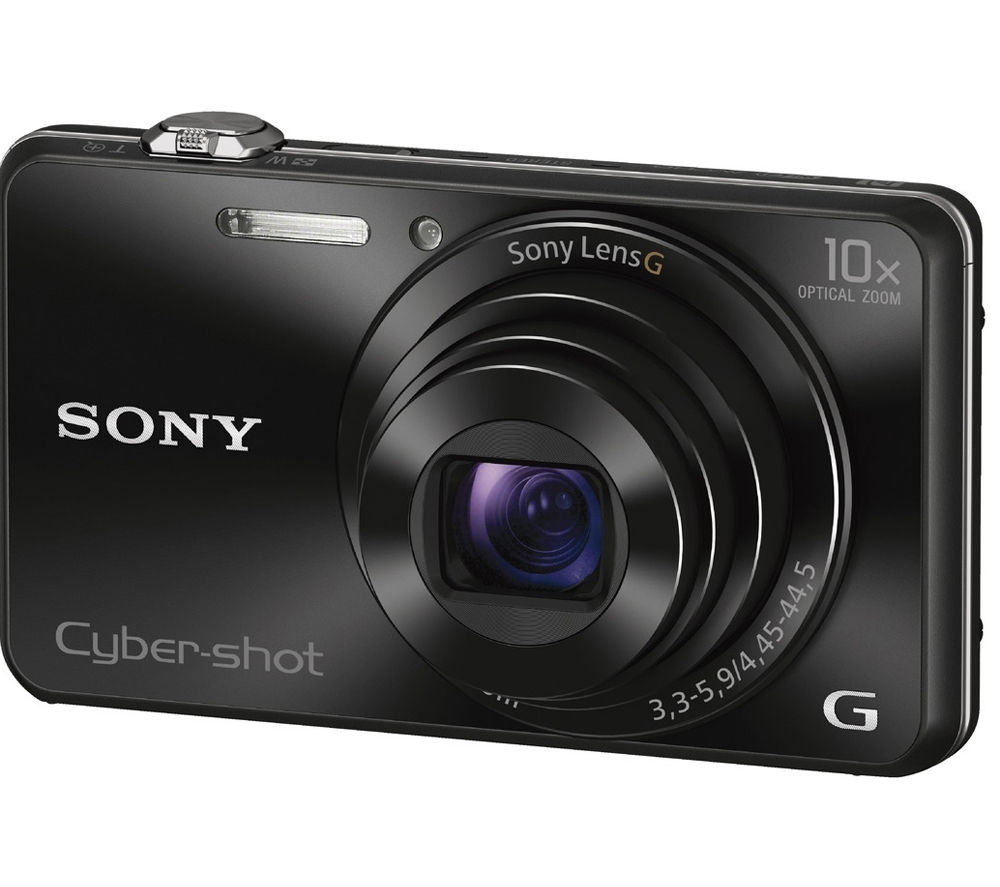 Buy Sony Cyber Shot Dsc Wx220b Compact Camera Black