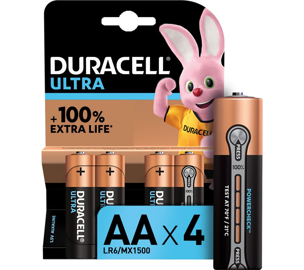 DURACELL  LR6/MX1500 Ultra Power AA Alkaline Batteries