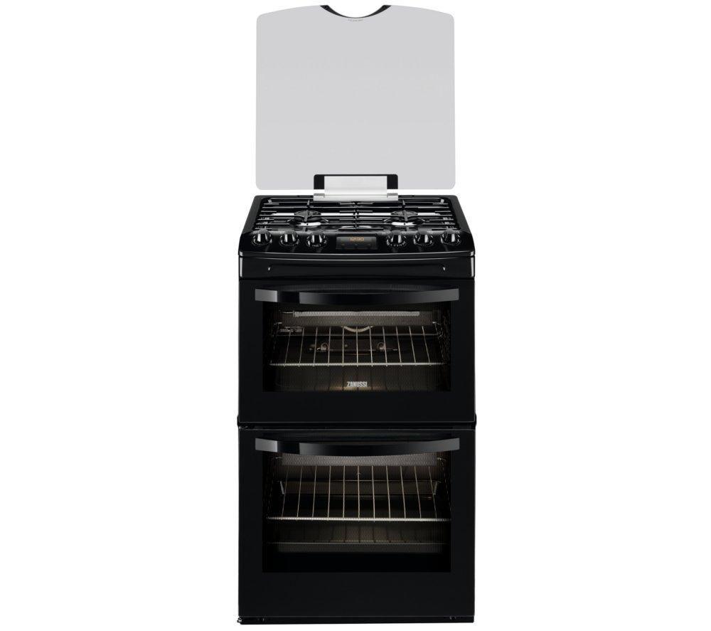 ZANUSSI ZCG43330BA Gas Cooker - Black