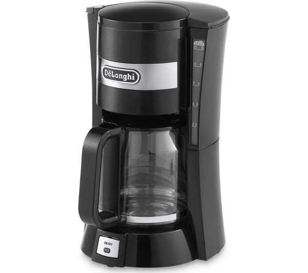 Free Coffee Maker With Coffee Purchase : Buy DELONGHI ICM15210 Coffee Maker - Black Free Delivery Currys