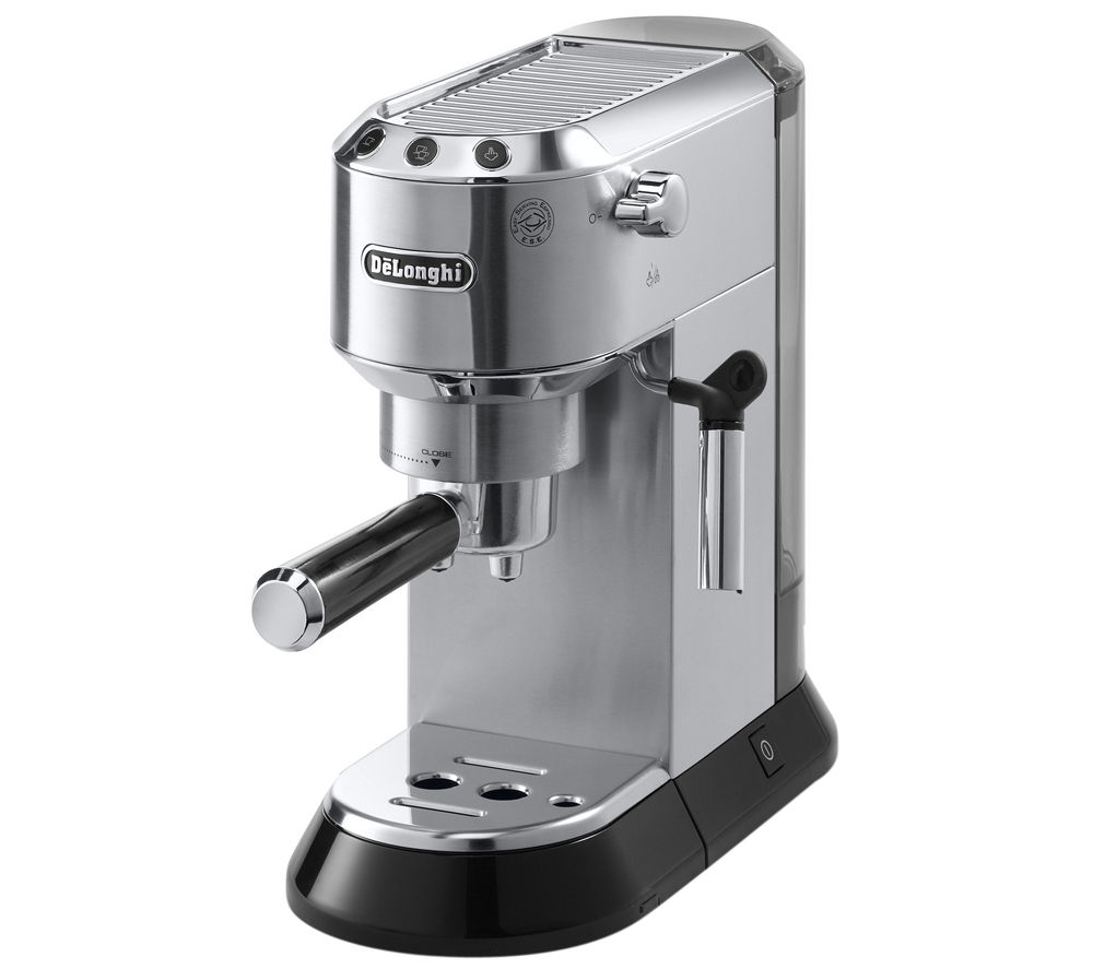 Currys Small Kitchen Appliances Buy Delonghi Dedica Ec680m Coffee Machine Silver Pavina Double