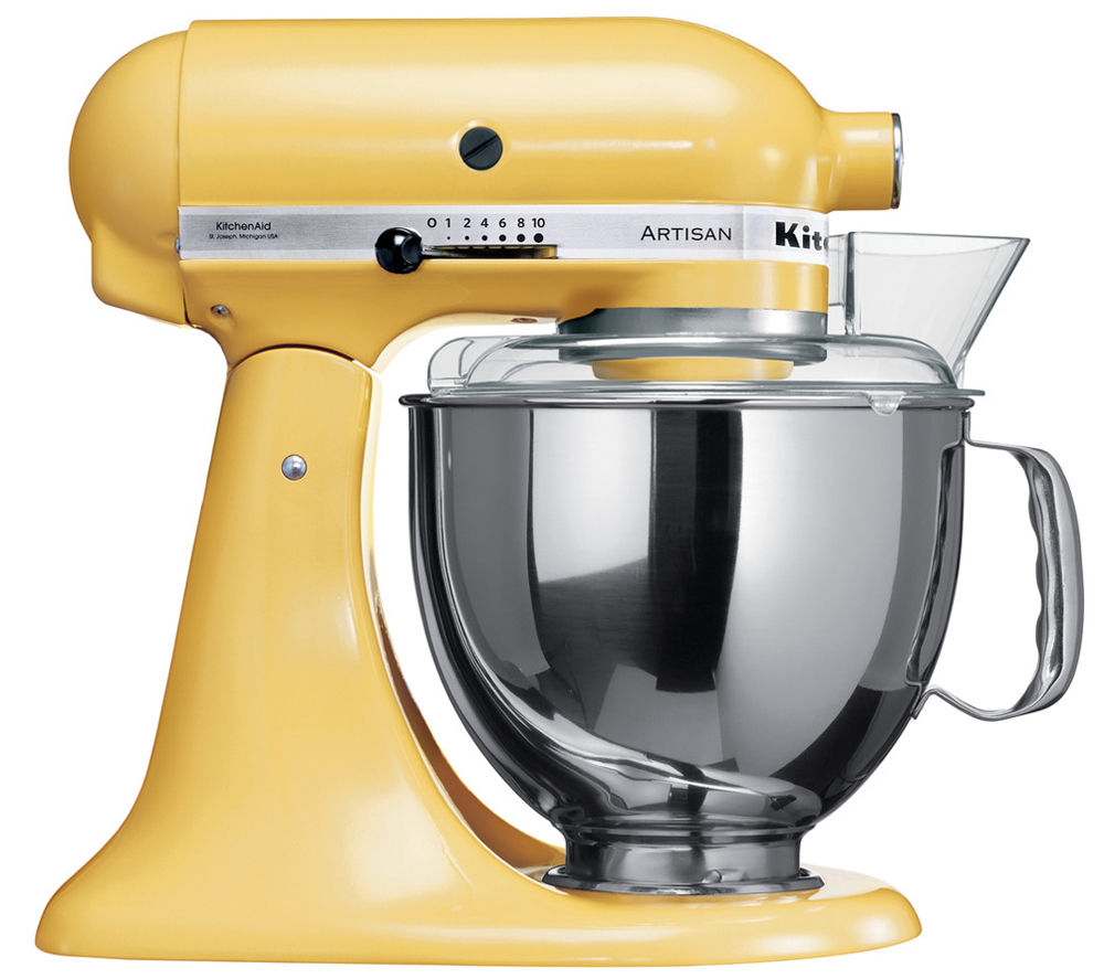Buy KITCHENAID 5KSM150PSBMY Artisan Stand Mixer Majestic Yellow Free Delivery Currys