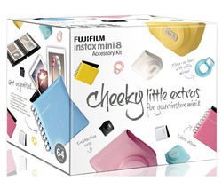 FUJIFILM Instax Mini8 Accessory Kit - Pink