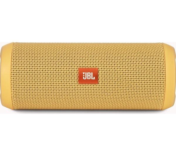 Image of JBL Flip 3 Portable Wireless Speaker - Yellow