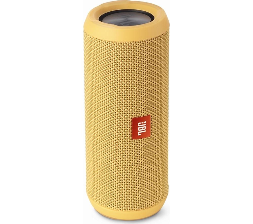 Click to view more of JBL  Flip 3 Portable Wireless Speaker - Yellow, Yellow