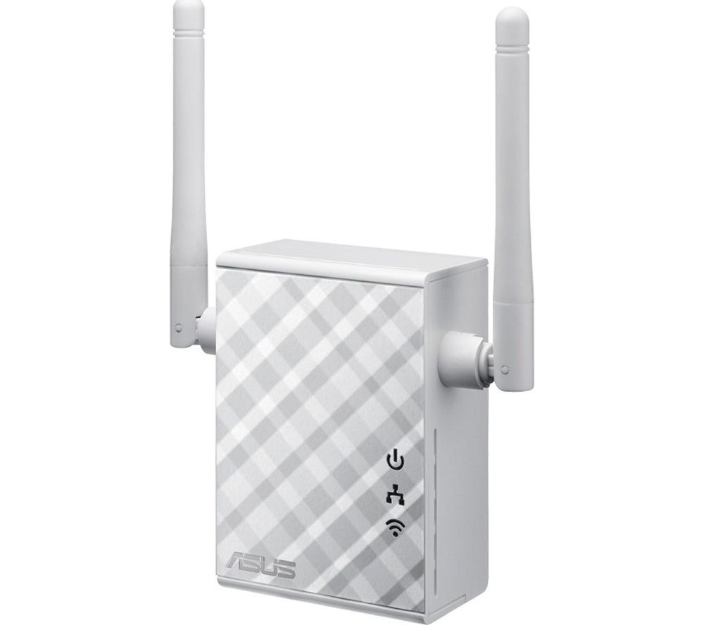 ASUS RP-N12 WiFi Range Extender - 300 Mbps, Single-band
