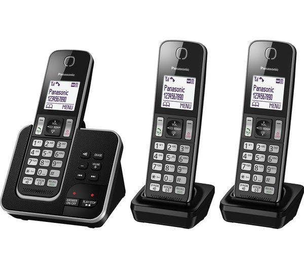 panasonic cordless telephones with answering machine