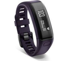 GARMIN Vivosmart HR - Purple, Medium