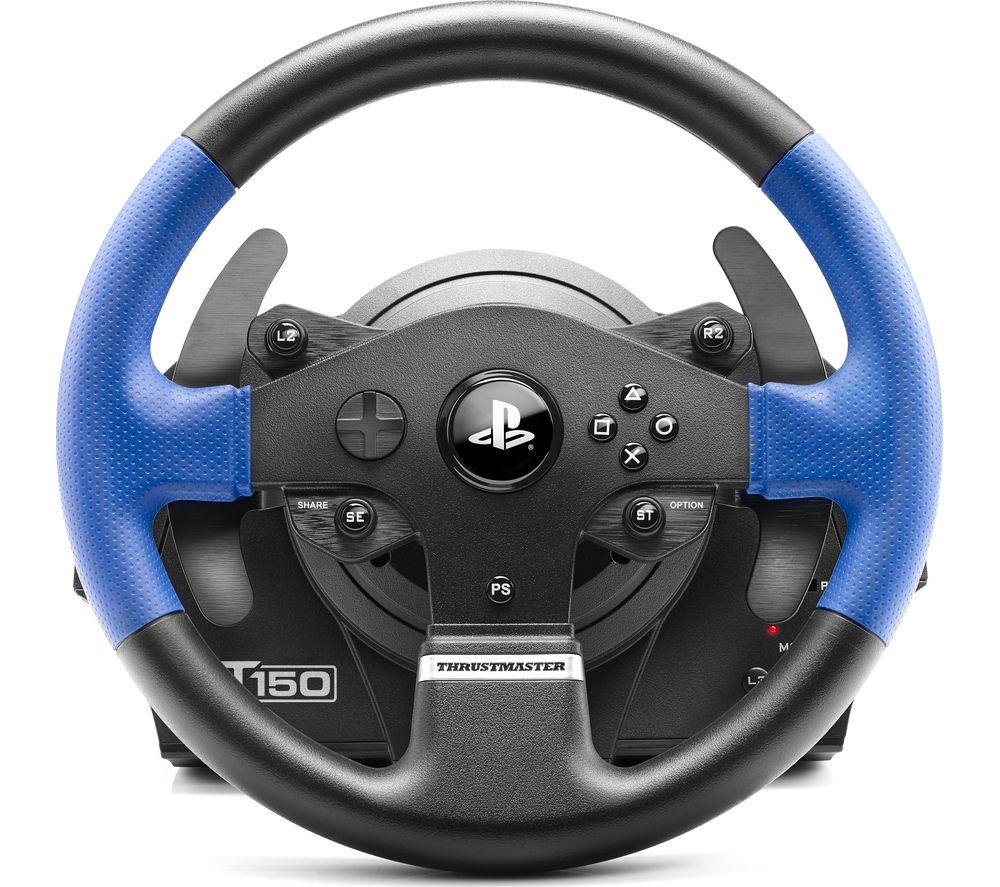 Buy Thrustmaster T150 Rs Steering Wheel Black Amp Blue