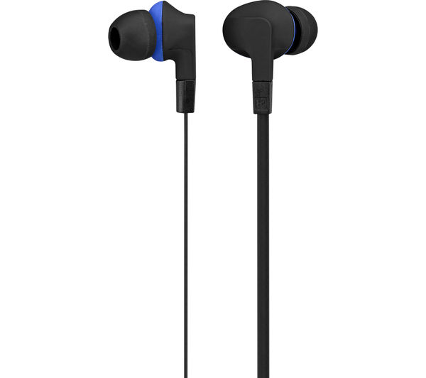 Image of GOJI COLLECTION GTCINBT16 Wireless Bluetooth Headphones - Black & Blue