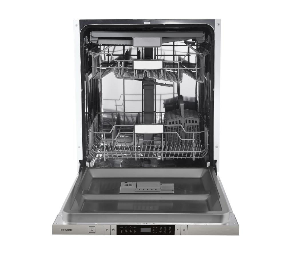 Mini Dishwashers Buy Kenwood Kid60x16 Full Size Integrated Dishwasher Free