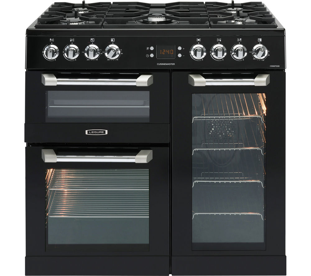 buy leisure cuisinemaster cs90f530k dual fuel range cooker. Black Bedroom Furniture Sets. Home Design Ideas