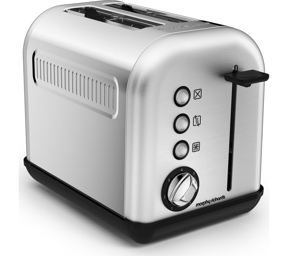MORPHY RICHARDS  Brushed Accents 2220006 2slice Toaster