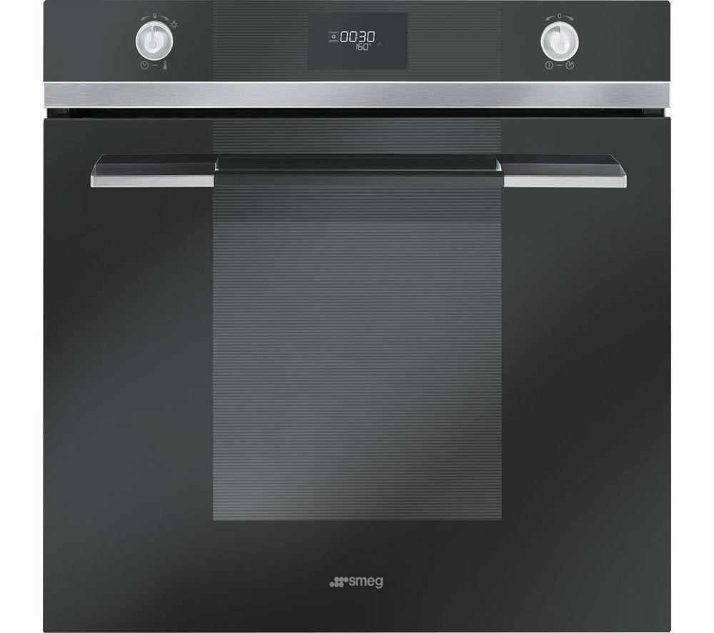 Image of SMEG Linea SF109N Electric Oven - Black, Black
