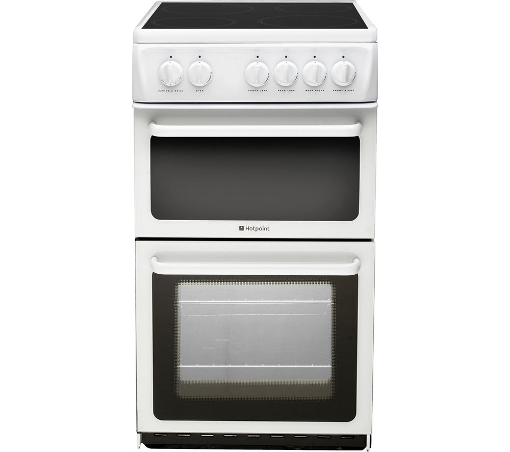 HOTPOINT  HAE51PS Electric Ceramic Cooker  White White