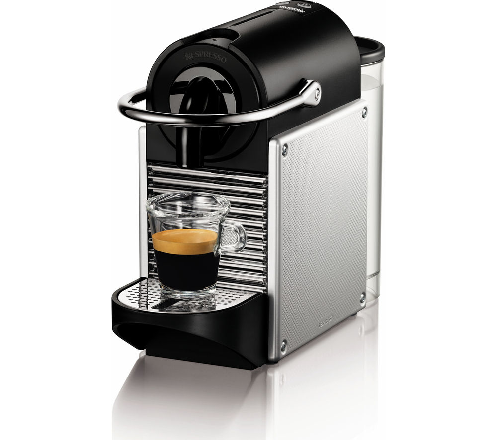 NESPRESSO  by Magimix Pixie 11322 Coffee Machine  Aluminium