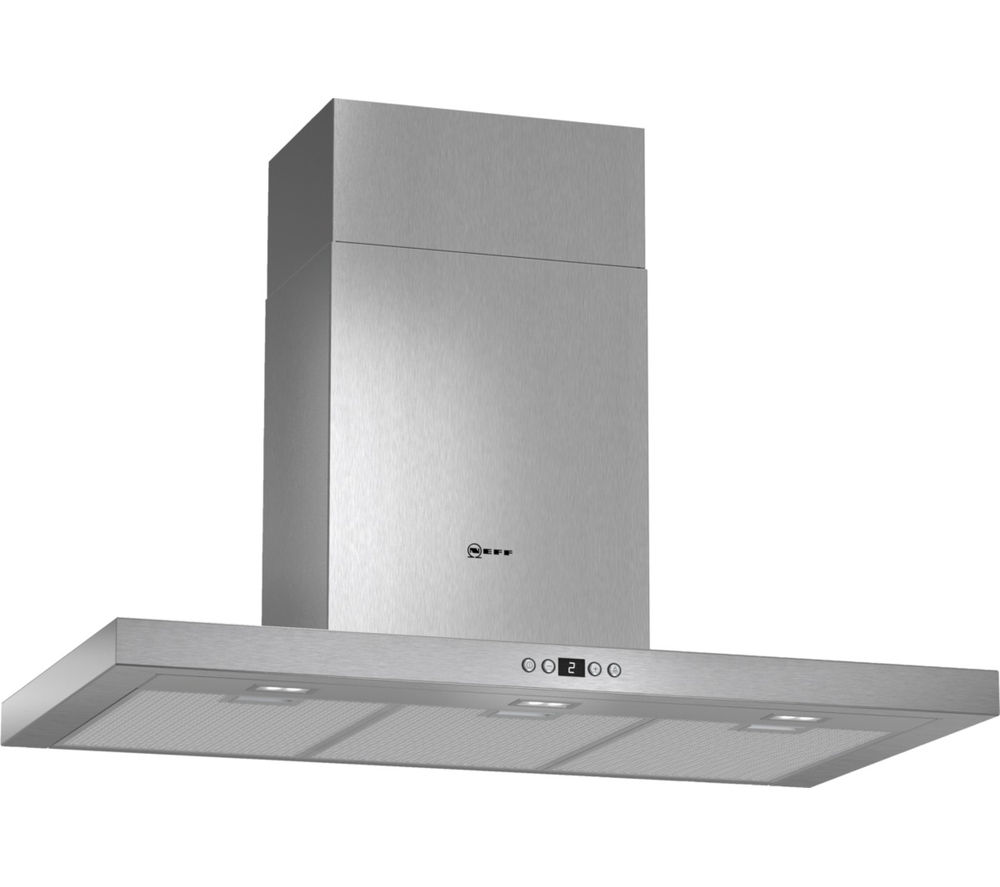buy neff d79sh52n0b chimney cooker hood stainless steel. Black Bedroom Furniture Sets. Home Design Ideas