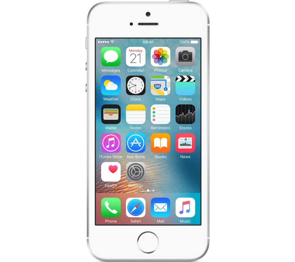 APPLE iPhone SE - 128 GB, Silver