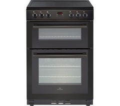 NEW WORLD NW 60EDOMC BLK 60 cm Electric Ceramic Cooker - Black