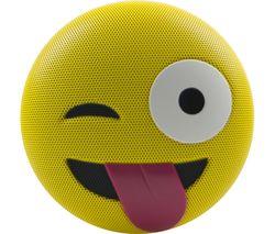JAMOJI Winking Portable Bluetooth Wireless Speaker - Yellow