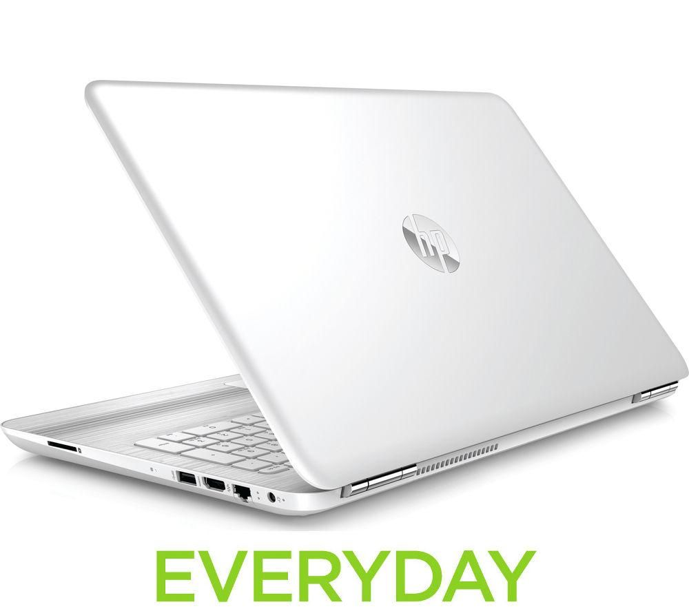 HP  Pavilion 15au171sa 15.6 Laptop  White White