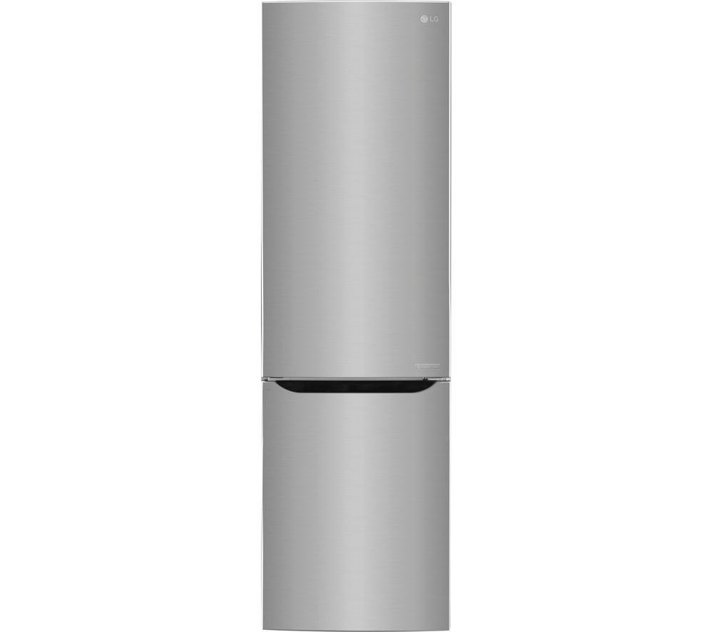LG GBB60PZJZS Fridge Freezer  Silver Silver