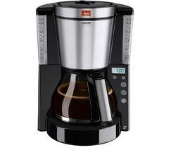 MELITTA Look IV Timer Filter Coffee Machine - Black