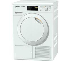 MIELE Eco TDB120WP Heat Pump Tumble Dryer - White