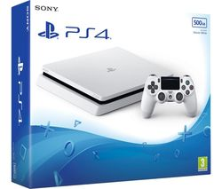 PLAYSTATION 4 Slim - 500 GB, White