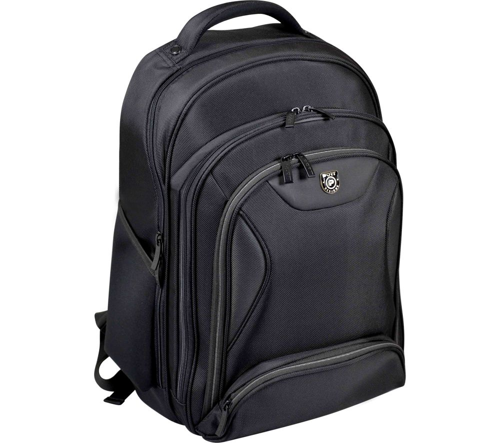 "PORT DESIGNS Manhattan 15.6"" Laptop & Tablet Backpack - Black"