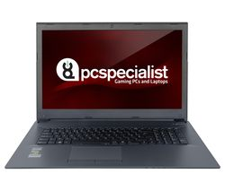 "PC SPECIALIST Optimus VIII RS17-XT 17.3"" Gaming Laptop - Black"